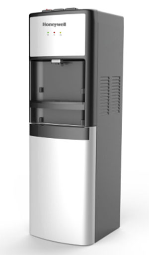 Honeywell 39-Inch Commercial Grade Freestanding Water Cooler Dispenser, Silver - HWB1083S