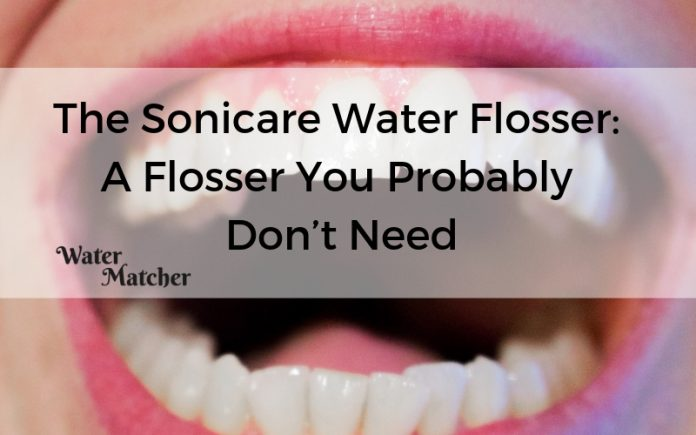 The Sonicare Water Flosser