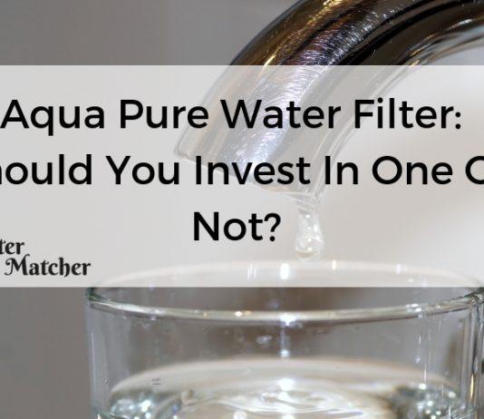 Aqua Pure Water Filter