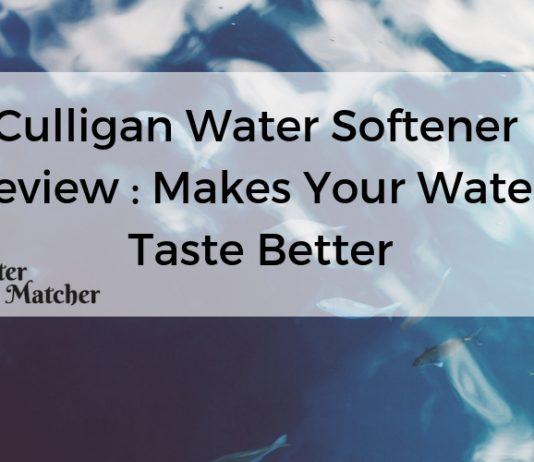 Culligan Water Softener Review